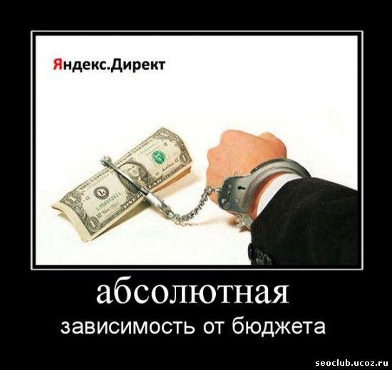 Яндекс директ зависит от бюджета